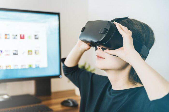 Herní brýle určené pro virtuální realitu