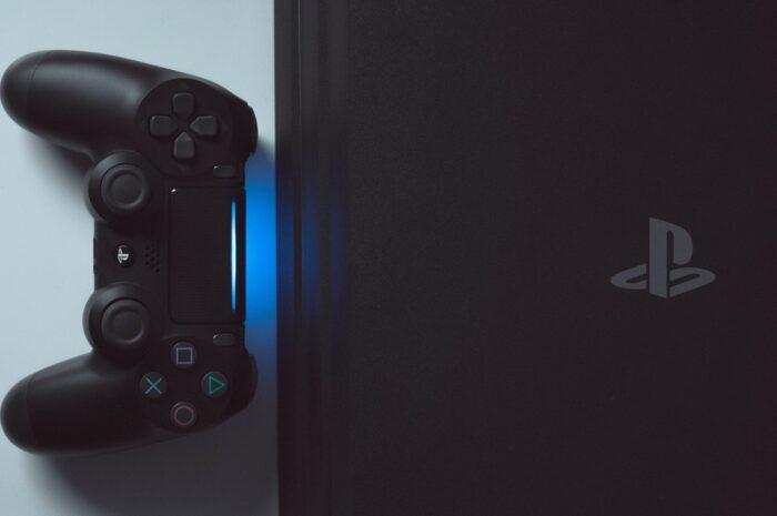 Moderní herní konzole PlayStation.