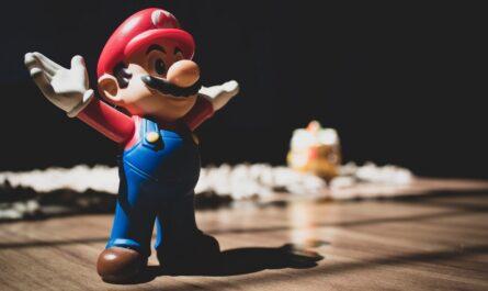 Super Mario jako hlavní postava hry.