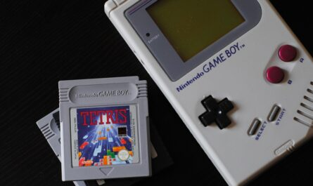Tetris v podobě ruční videohry.